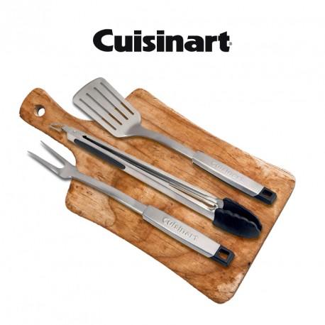 SET DE 3 UTENSILIOS BBQ - CUISINART