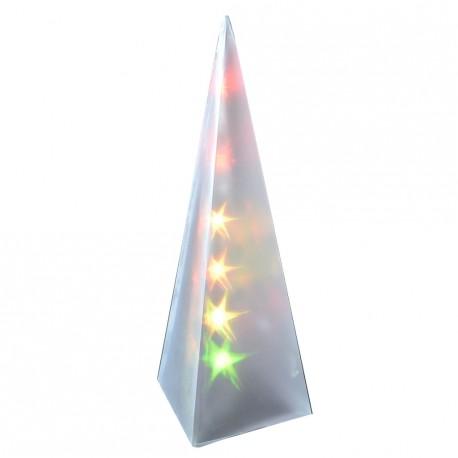 LUZ LED PIRAMIDE DE 35 CMS