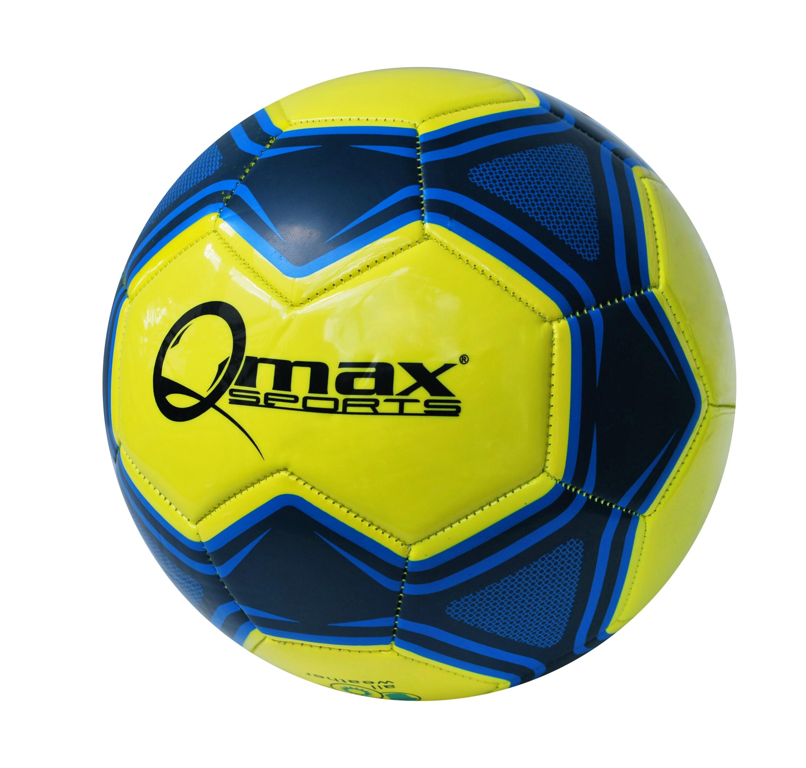 047630eacfa21 Balón de futbol Nº5 amarillo y azul - De Compras