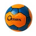 Balón de futbol No 5 naranja y azul