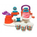 Maquina de helados con accesorios