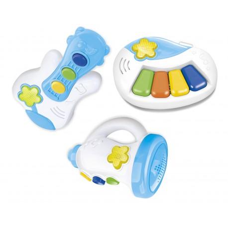 Set de instrumentos para bebe