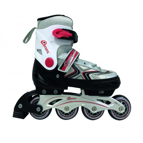 Patines ajustables fitness rojos