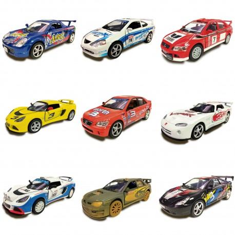 Colección de Mini Autos Rally